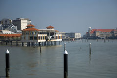Hamn Georgetown, Penang, Malaysia Royaltyfria Bilder