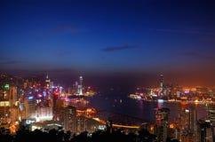 hamn hk victoria Fotografering för Bildbyråer