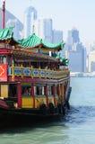 hamn Hong Kong Royaltyfria Bilder