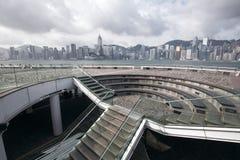 hamn Hong Kong victoria Royaltyfri Bild