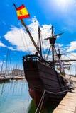 Hamn i Barcelona, Spanien Arkivbild