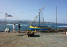 Hamn i Las Palmas de Gran Canaria Arkivbild
