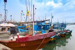 Hamn i Sri Lanka arkivfoto