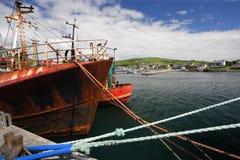 hamn ireland royaltyfria foton