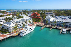 hamn Key West Royaltyfri Fotografi