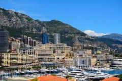 Hamn La Condamine, Monaco Royaltyfri Bild