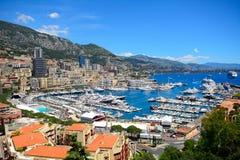 Hamn La Condamine, Monaco Royaltyfria Foton