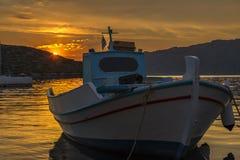 Hamn på Symi, Grekland royaltyfria foton