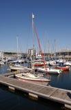 hamn plymouth Arkivfoton
