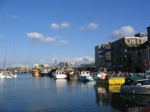 hamn plymouth Arkivbild