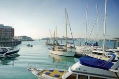 hamn portsmouth Arkivbild
