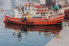 Hamn Punta del Este Uruguay Royaltyfri Fotografi