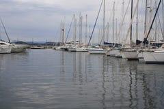 Hamn Saint Tropez Arkivfoton