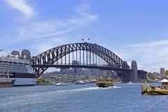 Hamn Sydney Australia Fotografering för Bildbyråer