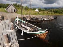 hamn viking Royaltyfri Bild