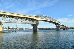 Hamnbro Auckland Nya Zeeland Arkivbild