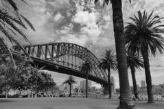 Hamnbro i Sidney Australia arkivbilder