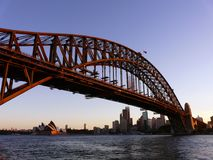 Hamnbro i Sydney Arkivbilder