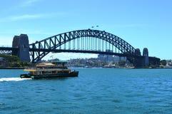 Hamnbro i Sydney, Australien royaltyfri fotografi