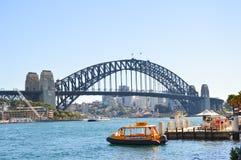 Hamnbro, Sydney Royaltyfri Fotografi