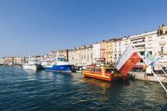 Hamnen av Sete, Frankrike royaltyfri bild
