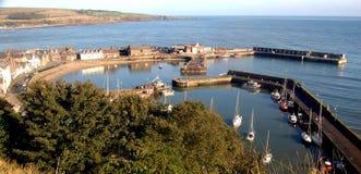 hamnen stonehaven Royaltyfri Foto