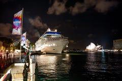 hamnen vaggar sydney Royaltyfri Foto