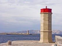 Hamningång på den kroatiska kusten Royaltyfri Fotografi