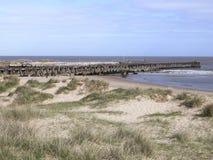 Hamningång Walberswick - Suffolk Royaltyfri Bild