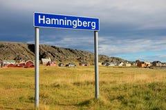 Hamningberg wioska rybacka, północny Norwegia, Europa zdjęcia stock