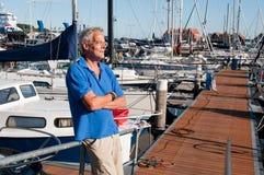 hamnman Fotografering för Bildbyråer
