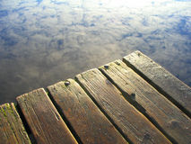 hamnmorgon Arkivfoto