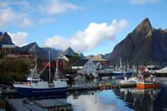 Hamnoy - Lofotend Island Royalty Free Stock Images