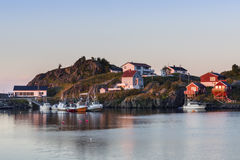 Hamnoy - Reine, Lofoten Islands, Norway Royalty Free Stock Photos