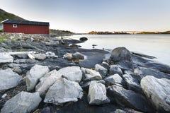 Hamnoy - Reine, Lofoten Islands, Norway Stock Photo