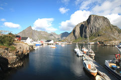 Hamnoy's landscape Stock Photos