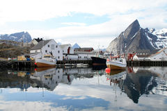Hamnoy's mirrors III Stock Photo