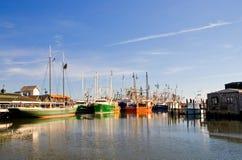 hamnplats för fiskare s Royaltyfri Foto