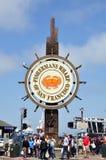 hamnplats för fiskare s Royaltyfria Foton