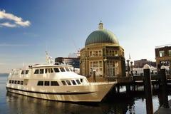 hamnplats för rowes för boston morpaviljong Royaltyfri Bild