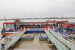 Hamnplatsen Royaltyfria Bilder