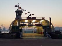hamnport Arkivfoto