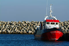 hamnship Royaltyfri Bild