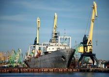hamnships Royaltyfria Bilder