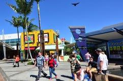 Hamnstad Gold Coast Queensland Australien Arkivfoton