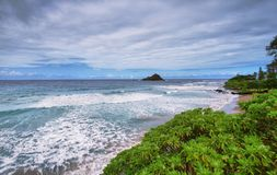 Hamoa Beach viewpoint Stock Photos