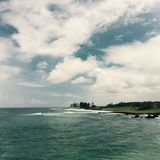 Hamoa strand, Maui, Hawaii, USA Arkivbilder