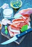 Hamon and aroma spice Stock Photos
