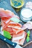 Hamon and aroma spice Royalty Free Stock Photo