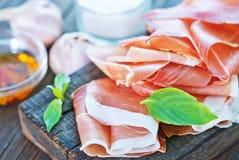 Hamon and aroma spice Stock Image